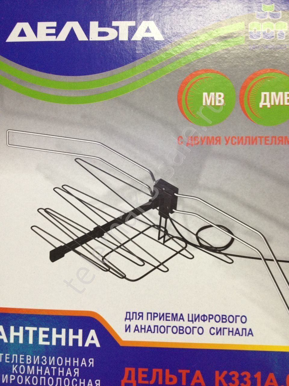 Комнатная антенна своими руками с усилителем
