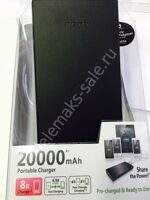 Блок Power Bank Sony 4 USB 20000mAh